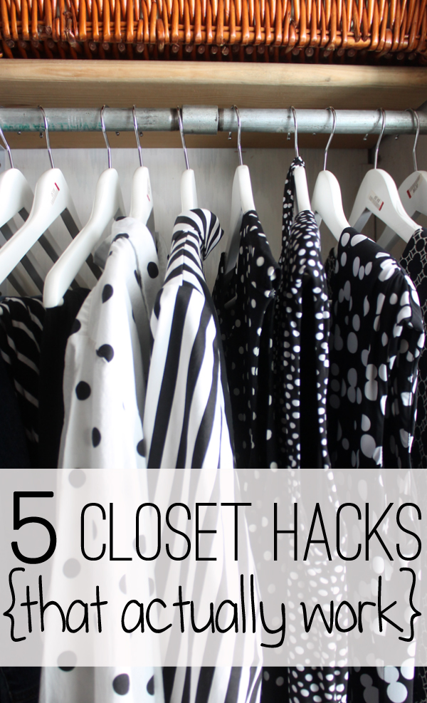 Five Closet Hacks (that actually work!)