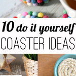 10 fun DIY coasters ideas