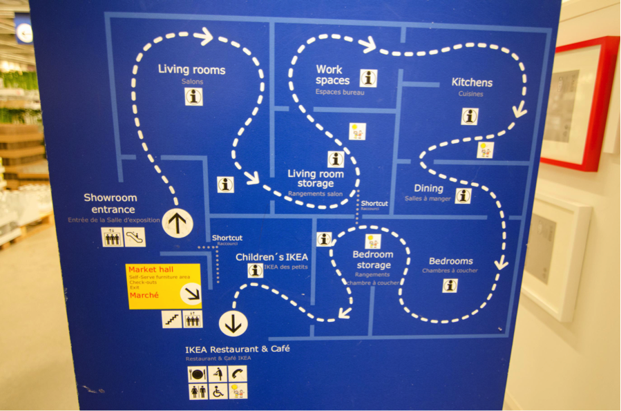 IKEA-map