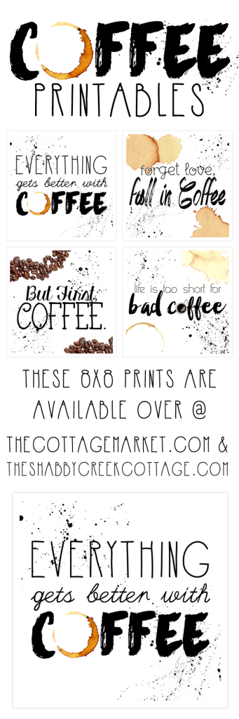 coffee collection printables