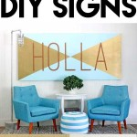 10 easy to make DIY signs