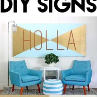 10 ways to make DIY signs