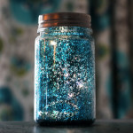 starry night luminaries (only takes a few minutes to make!)