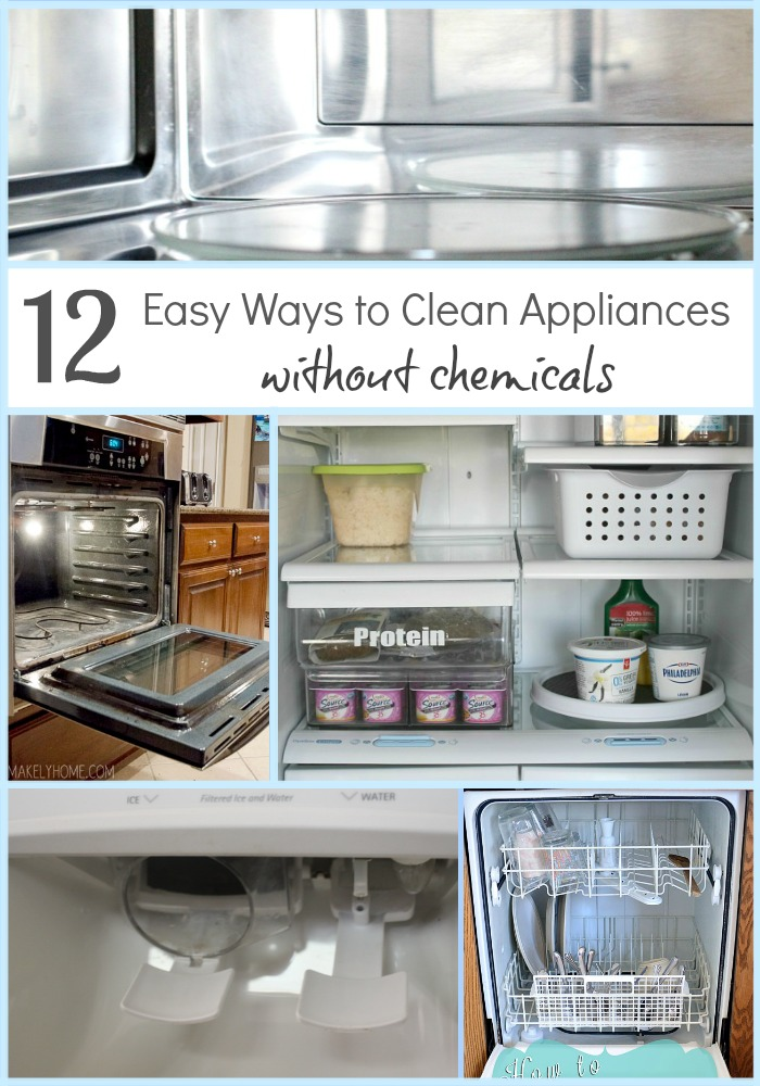 12 Easy Ways to Clean Appliances