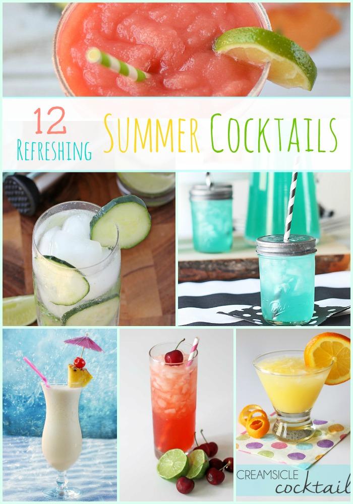 12 Refreshing Summer Cocktails