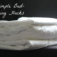 Five bed making hacks