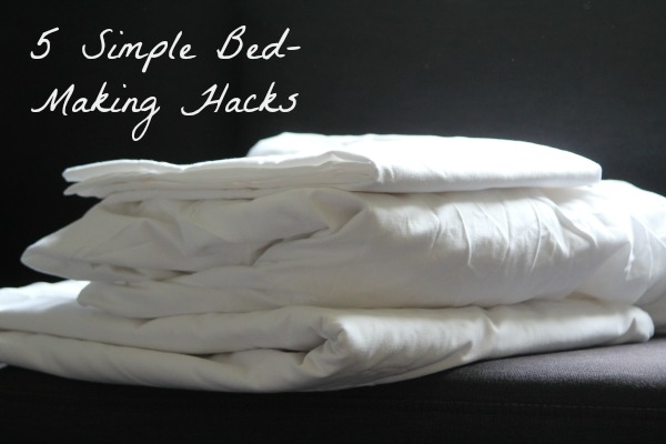 Five bed making hacks