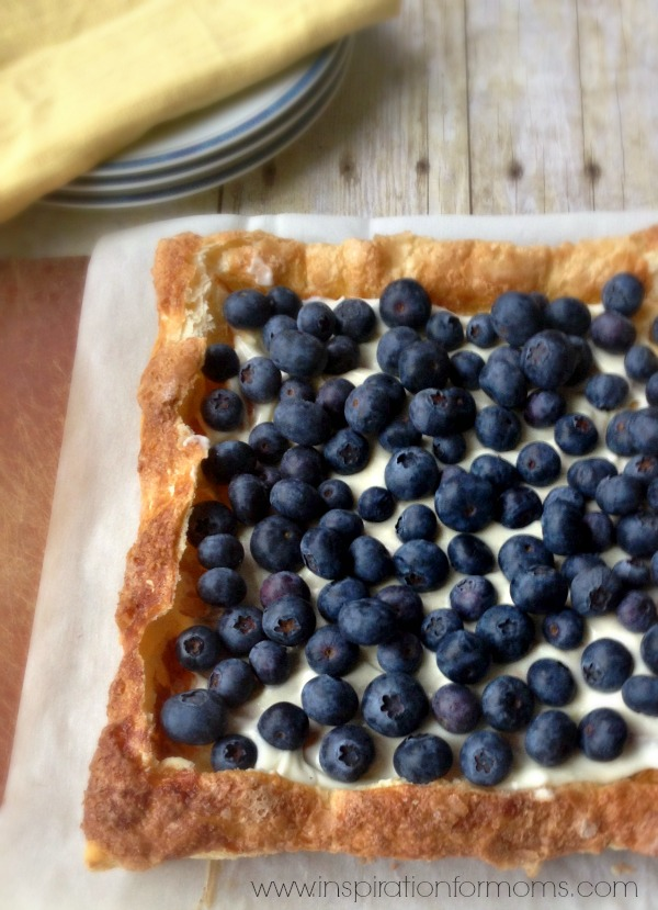 Easy and yummy Blueberry Tart pastry