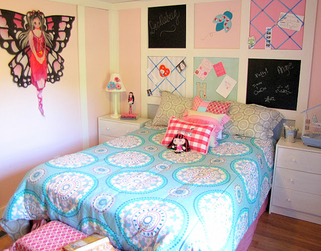Pink Girl's Bedroom