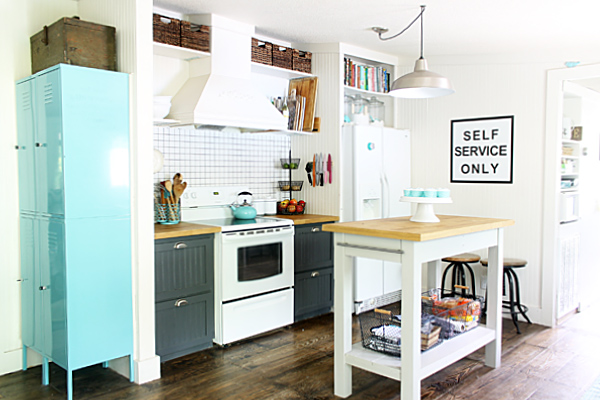shabby creek cottage kitchen