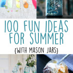 100 ideas for summer in jars