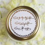 summer sugar scrub