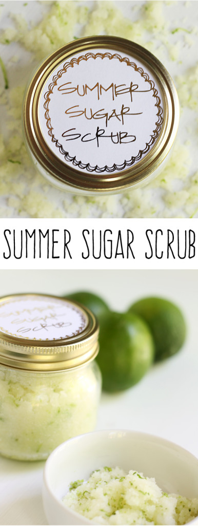 sugar scrub in jars
