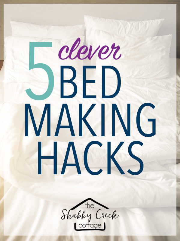 Smart bed making hacks - the sheets trick is genius