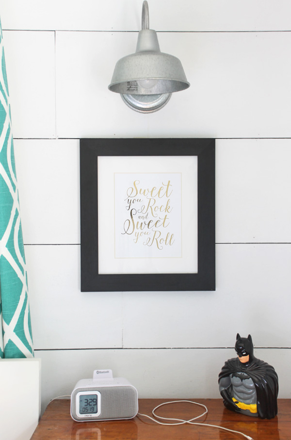 how to make gold foil prints