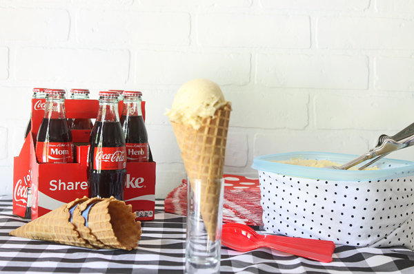 coke float ice cream recipe