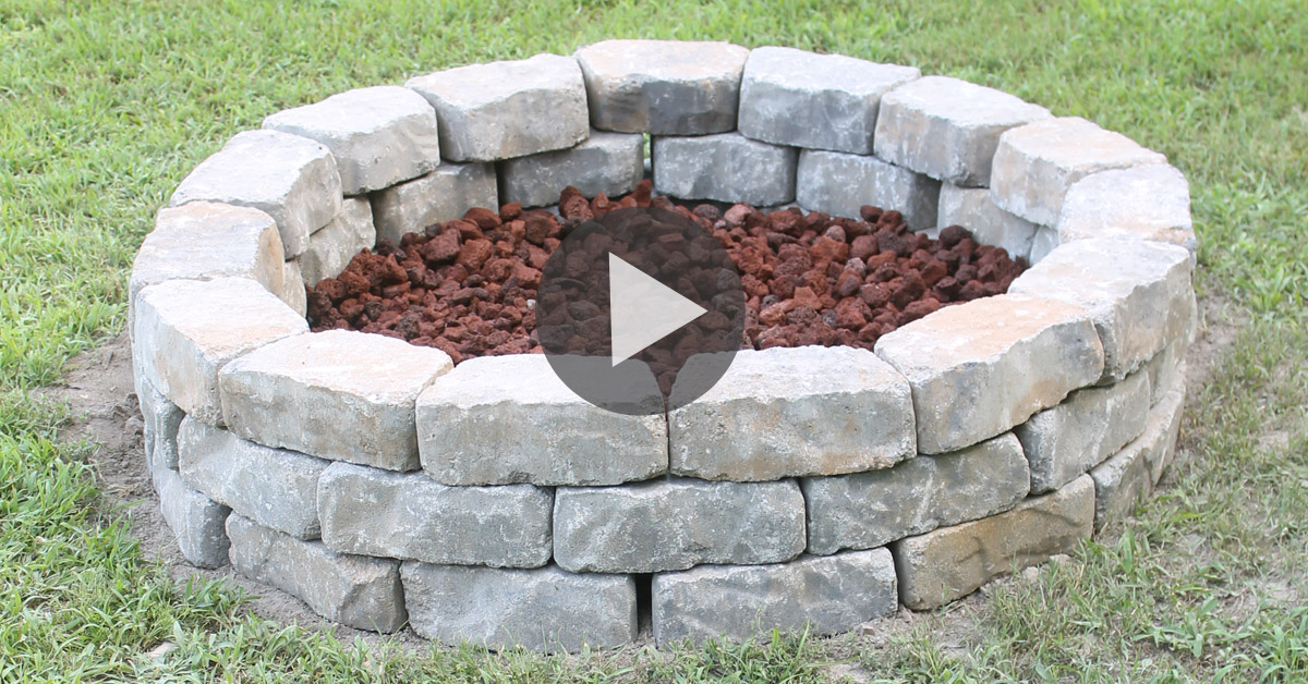 - Fire Pit Project (you Can Do In One Hour!)