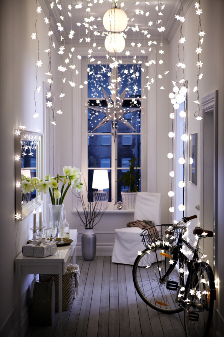 8 ways to decorate with string lights String Globe Lighting Ideas Inside Html on