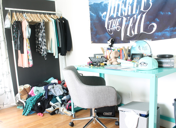 Teen Bedroom Organizing Ideas