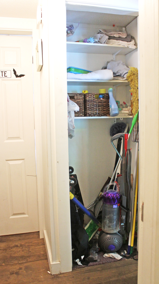 Cleaning Closet Organizing Ideas