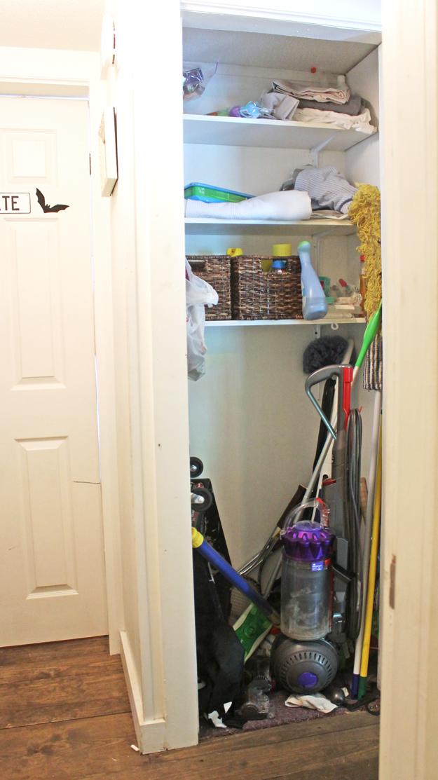 Bon Cleaning Closet Organizing Ideas #damagefreeDIY