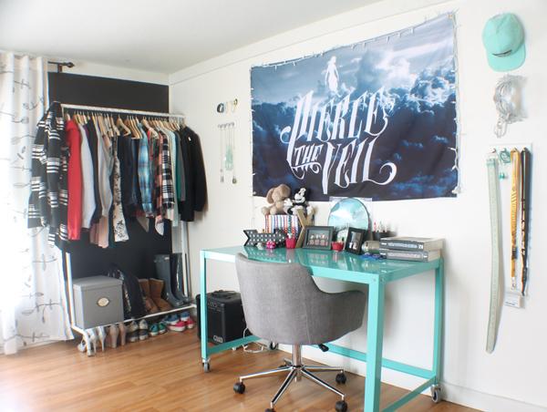 bedroom organizing ideas - #damagefreeDIY