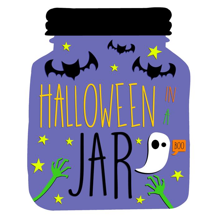 Halloween ideas in mason jars