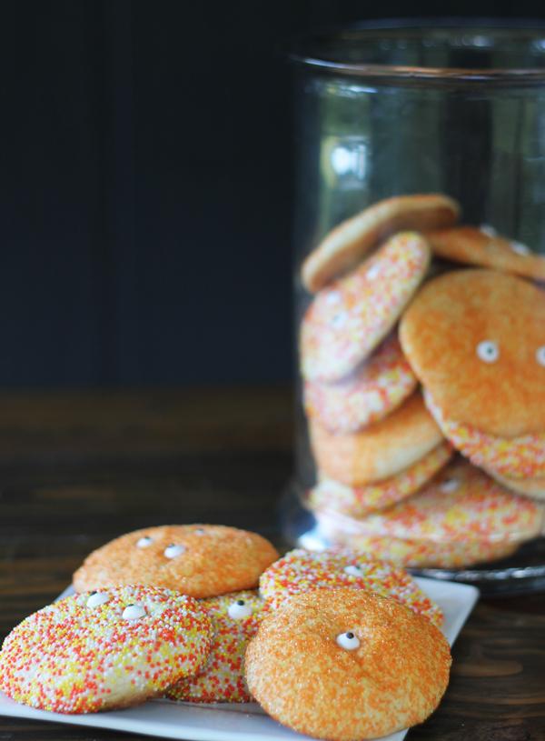 Halloween Cake Mix Monster Cookies