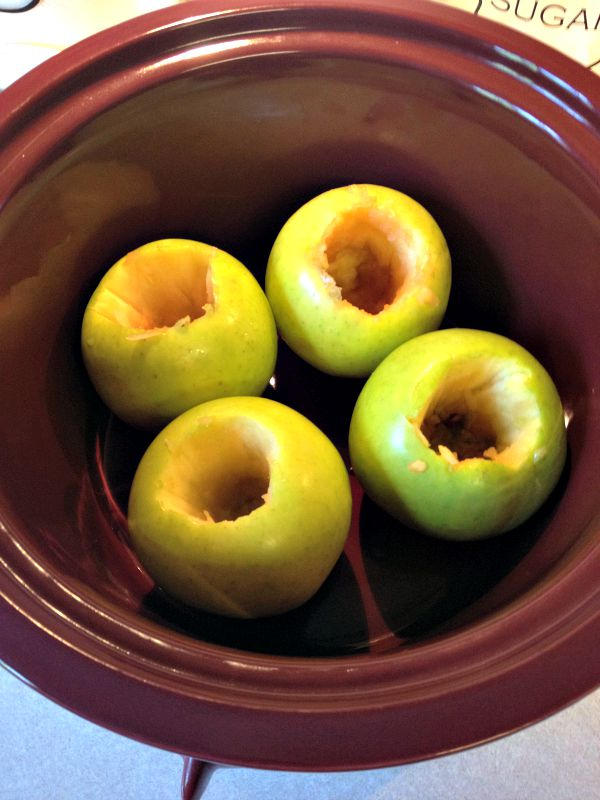 Delicious slow cooker apples