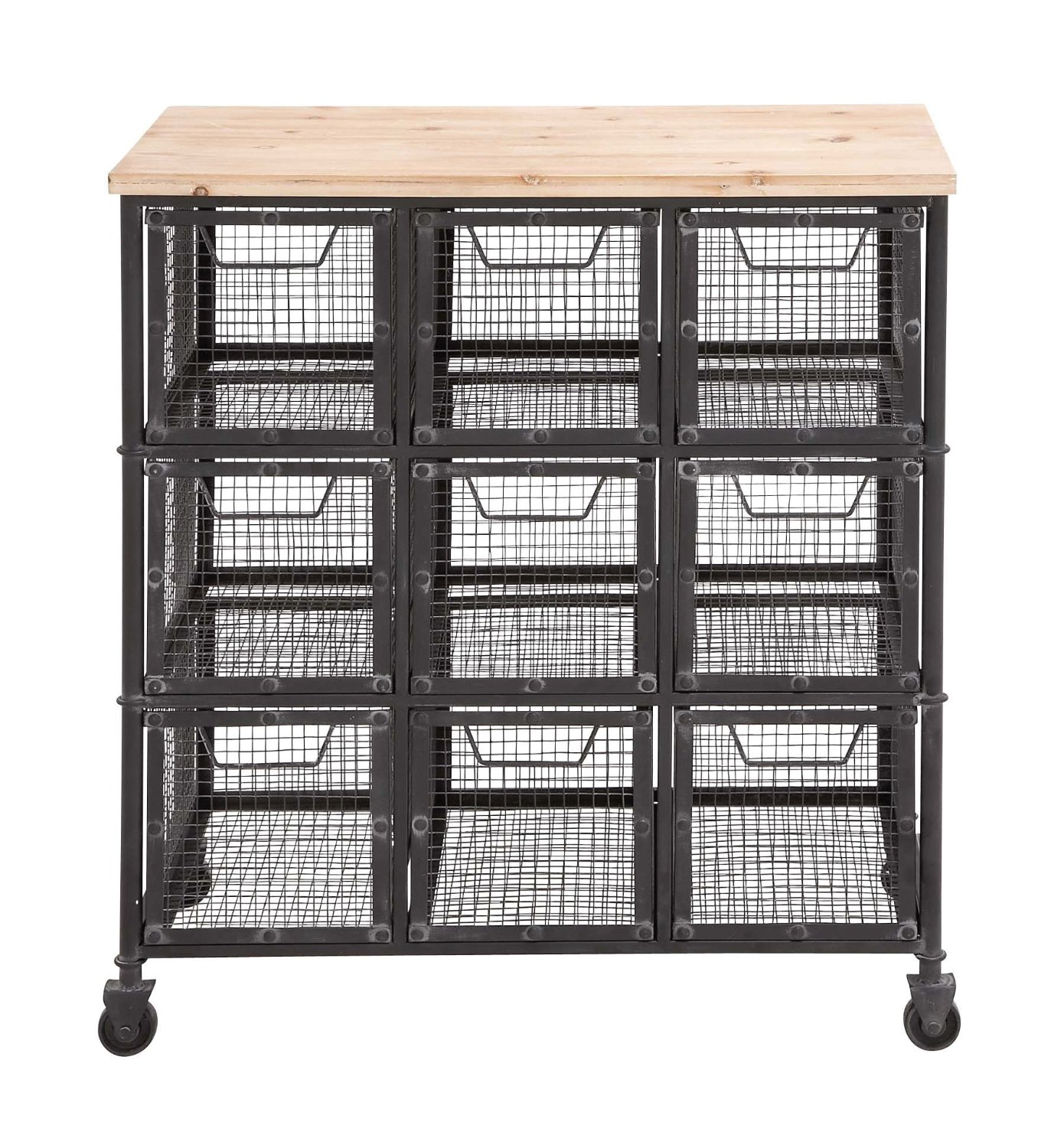 metal storage cart farmhouse style storage 25 bins buckets amp baskets to 23289