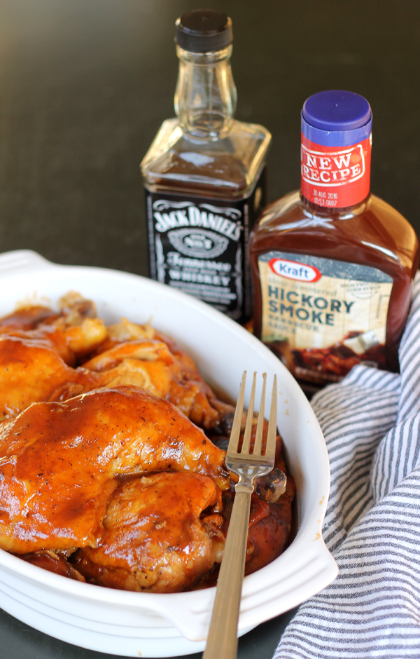 Easy bbq chicken breast in crock pot