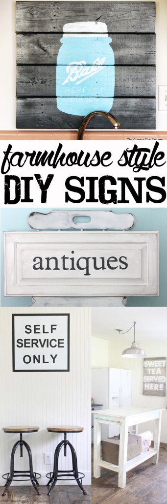 farmhouse style DIY signs
