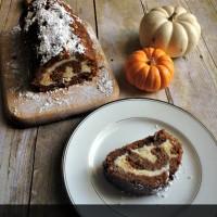 Pecan Pumpkin Roll Recipe