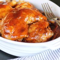 Bourbon BBQ Crock Pot Chicken Recipe