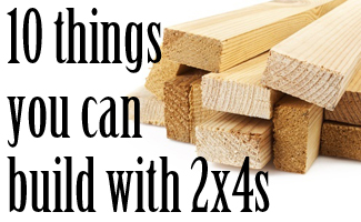 things to build with 2x4s