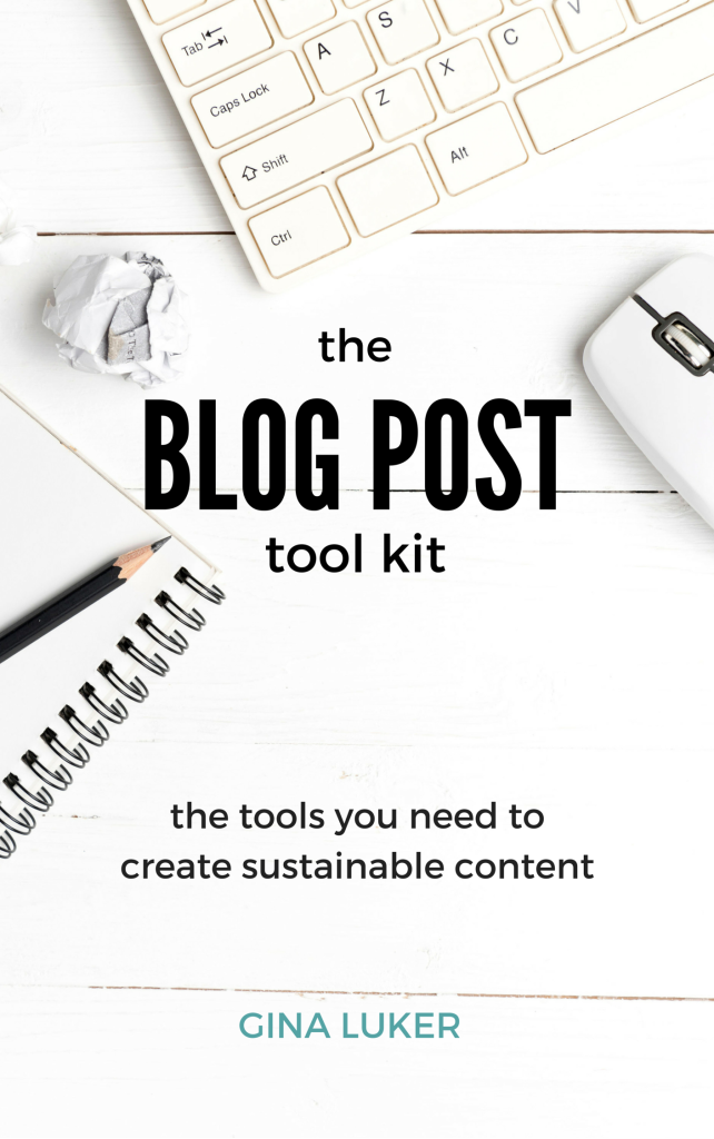 Tap into the unlimited potential of your blog by creating sustainable content. The Blog Post Tool Kit includes everything a blogger needs to create content that gets results.