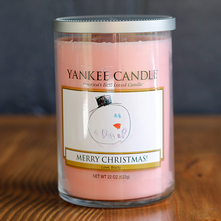 How to make a personalized Yankee Candle