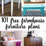 Fixer Upper style furniture projects