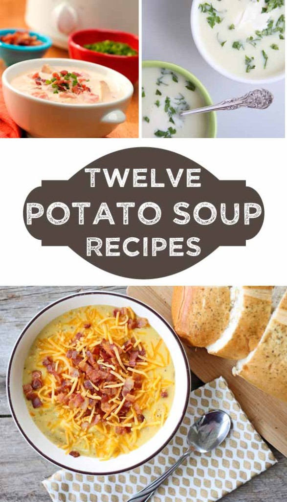 The Delicious Dozen: Twelve Potato Soup recipes to warm your bowl and belly!