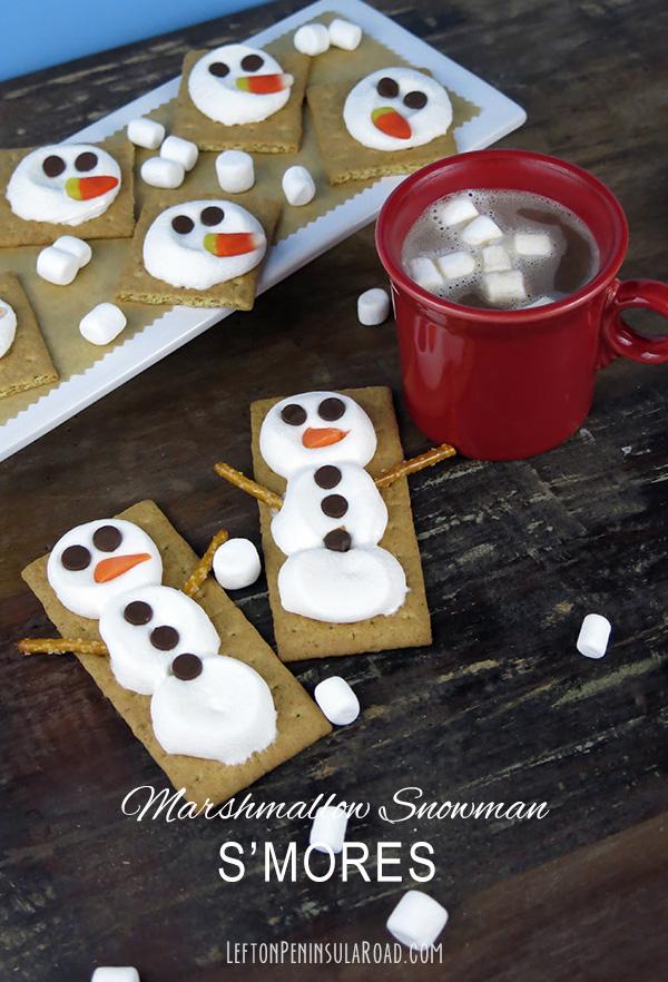 Snowman S'mores