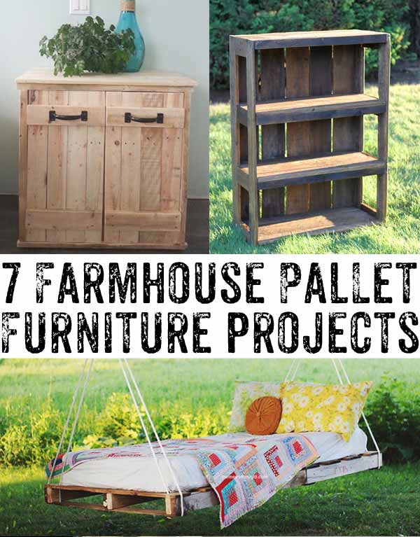 Pallet Furniture Ideas For Farmhouse Style Homes