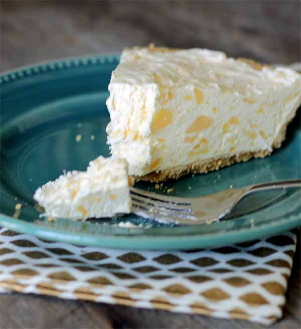 Pineapple cheesecake in five minutes? A must try!