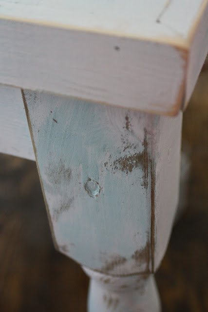 Turn any piece of furniture into a farmhouse show stopper with this great paint technique.