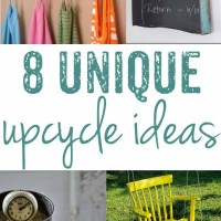 8 unique upcycling ideas