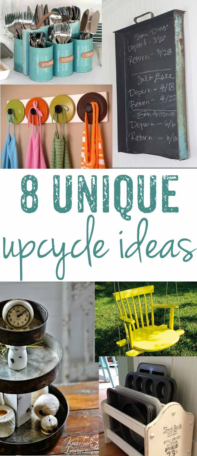& 8 insanely unique upcycling ideas