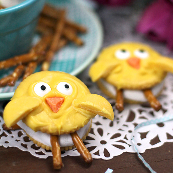 Easter Chicks S'Mores