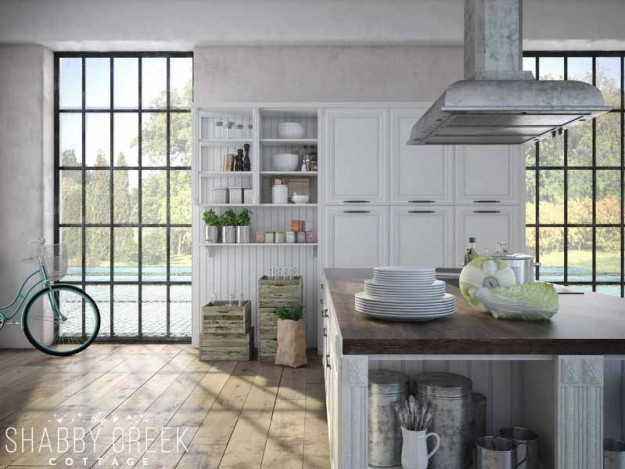 lovely farmhouse kitchen