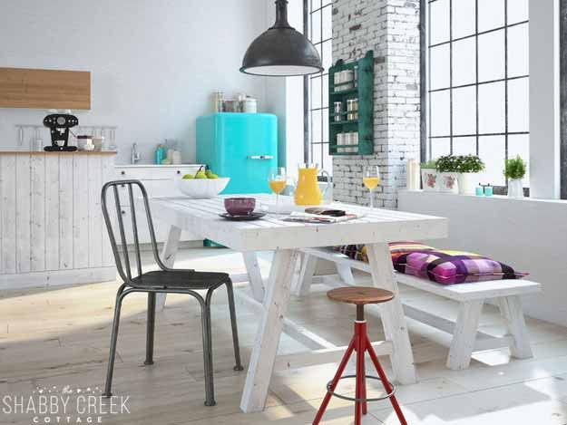 who knew you could put such big style into such a small kitchen?