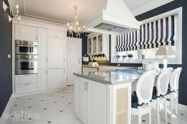 such a clean design - love this small but gorgeous kitchen!