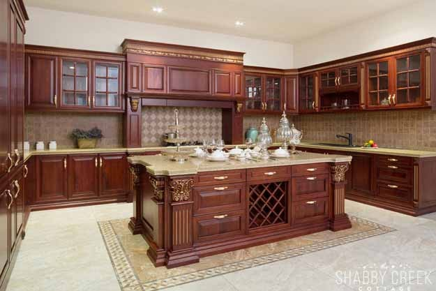 that kitchen island - be still my heart!
